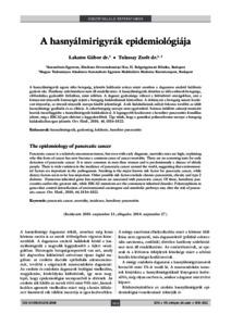 A hasnyálmirigyrák molekuláris diagnosztikája — Molekuláris Diagnosztikával a daganatok ellen