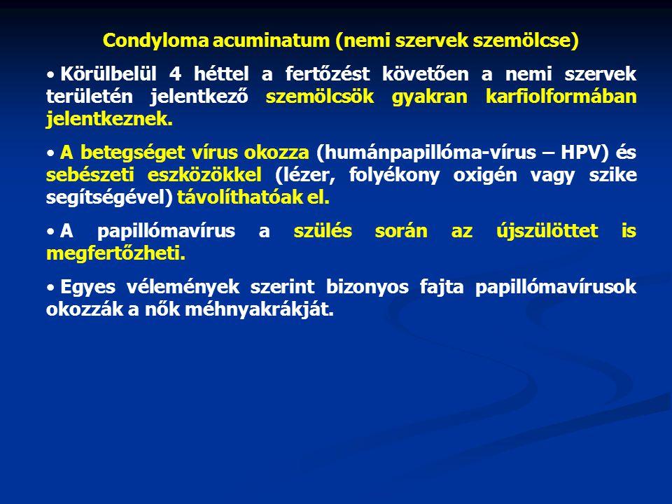 humán papillomavírus vírusellenes gyógyszer