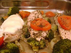 méregtelenítés csirke tomákkal