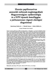 humán papillomavírusok hpvs)
