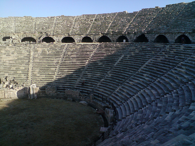 paraziták római arénák