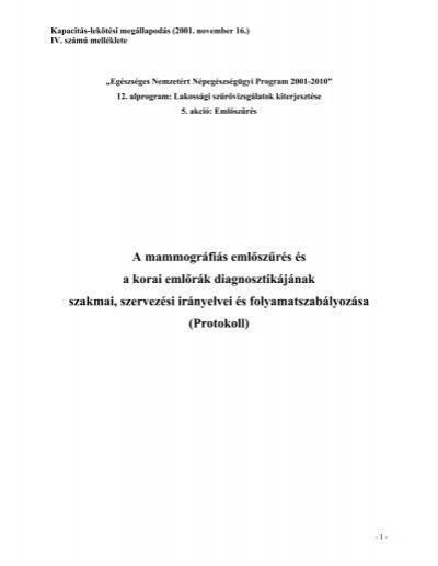 intraductalis papilloma patológia vázlata